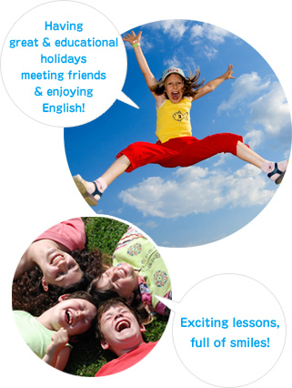 Having great and educational holidays meeting friends and enjoying English!